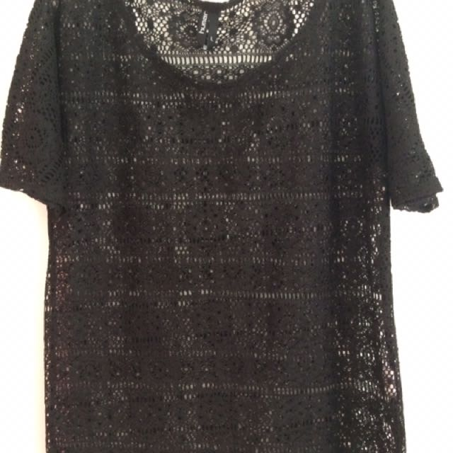 HUMAN Lace Top