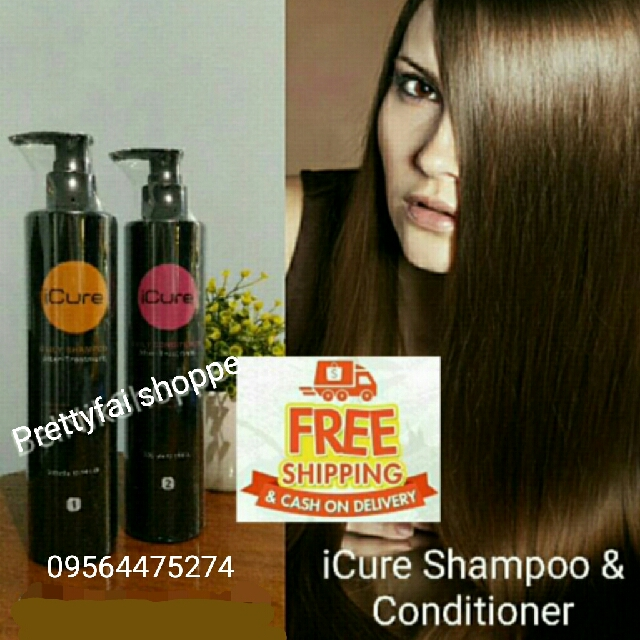 Icure shampoo & icure conditioner