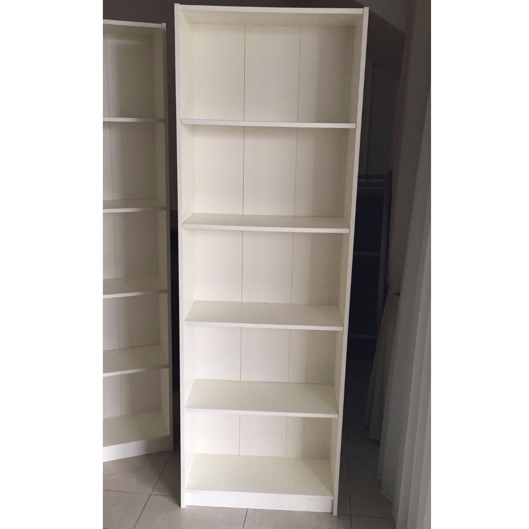 new style f17f5 a2a10 IKEA GERSBY BOOKCASE IN WHITE (9/10) on Carousell