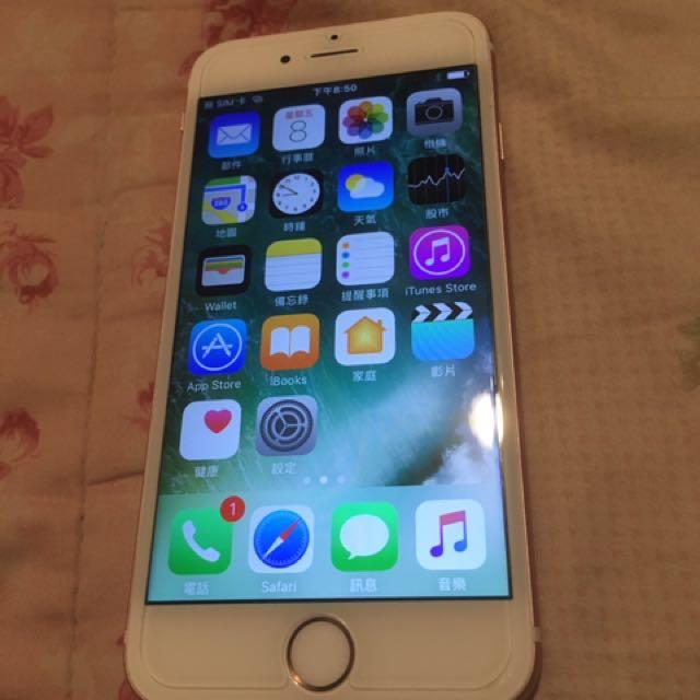 IPhone6s玫瑰金 16G