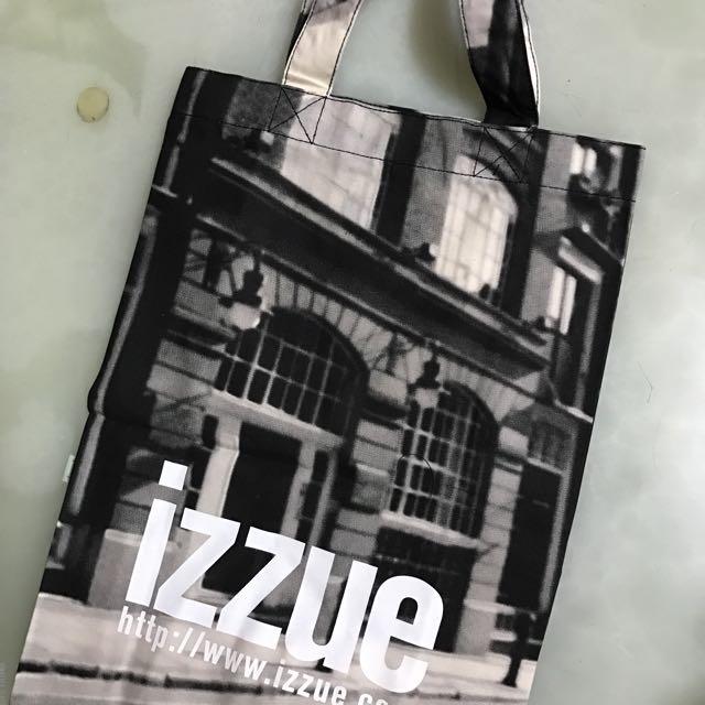 全新IZZUE帆布購物袋