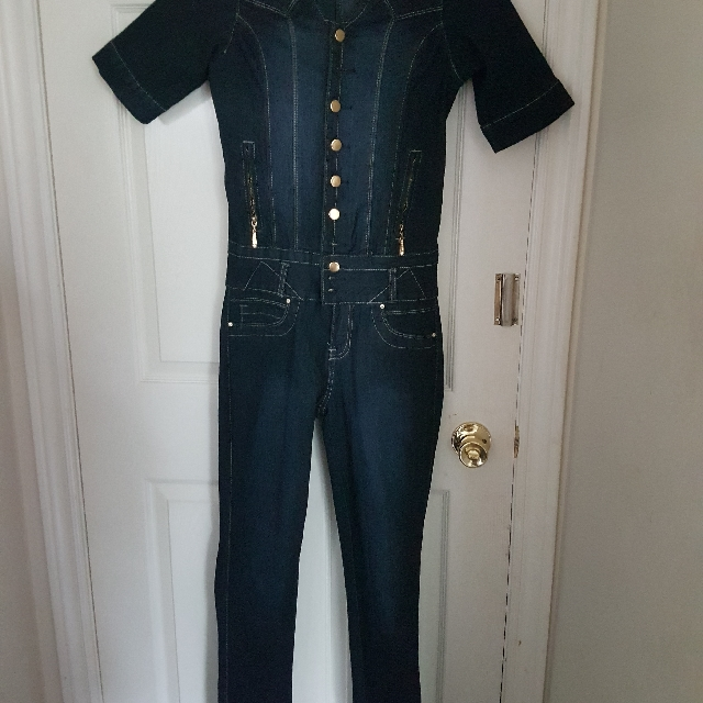 jumpsuit jean from.brazil brand new