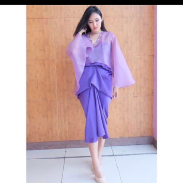 Kaftan Shafa purple