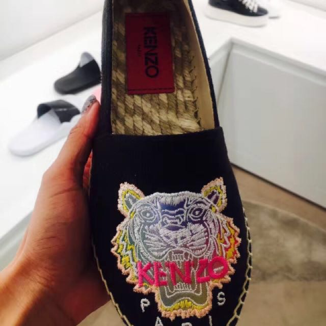 kenzo帆布鞋