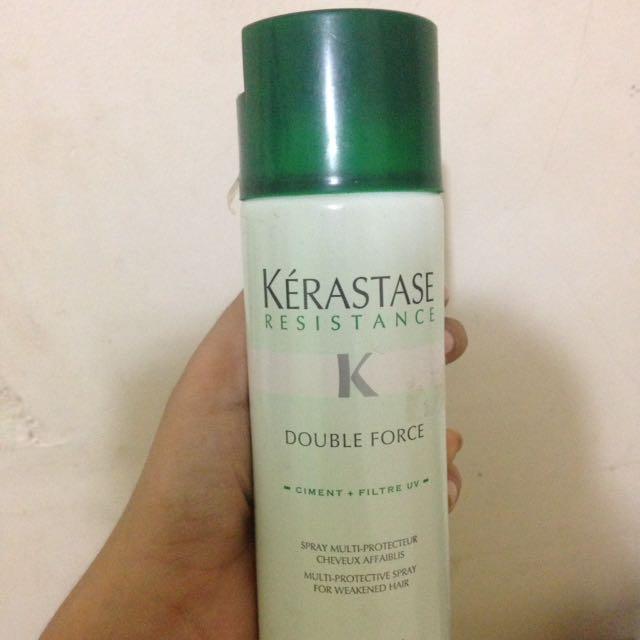 kerastase double force hairspray