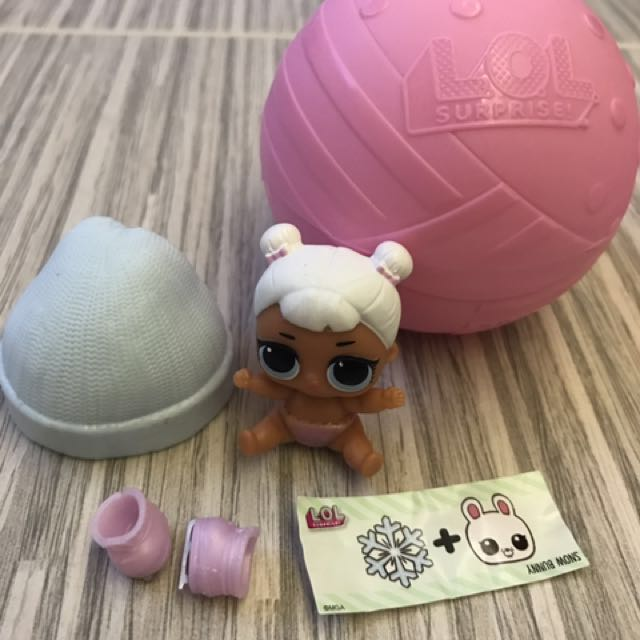 Lol Surprise Dolls Lil Snow Angel Reserved Toys Games Bricks Figurines On Carousell