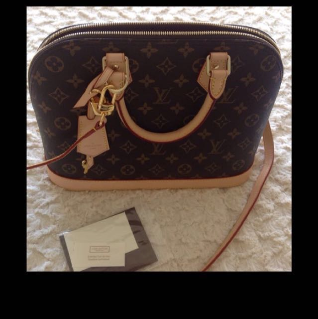 Louis Vuitton Alma High Quality Replica PM Handbag I Like To Swap Or Sell