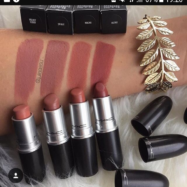 mac velvet teddy, health & beauty, makeup on carousell