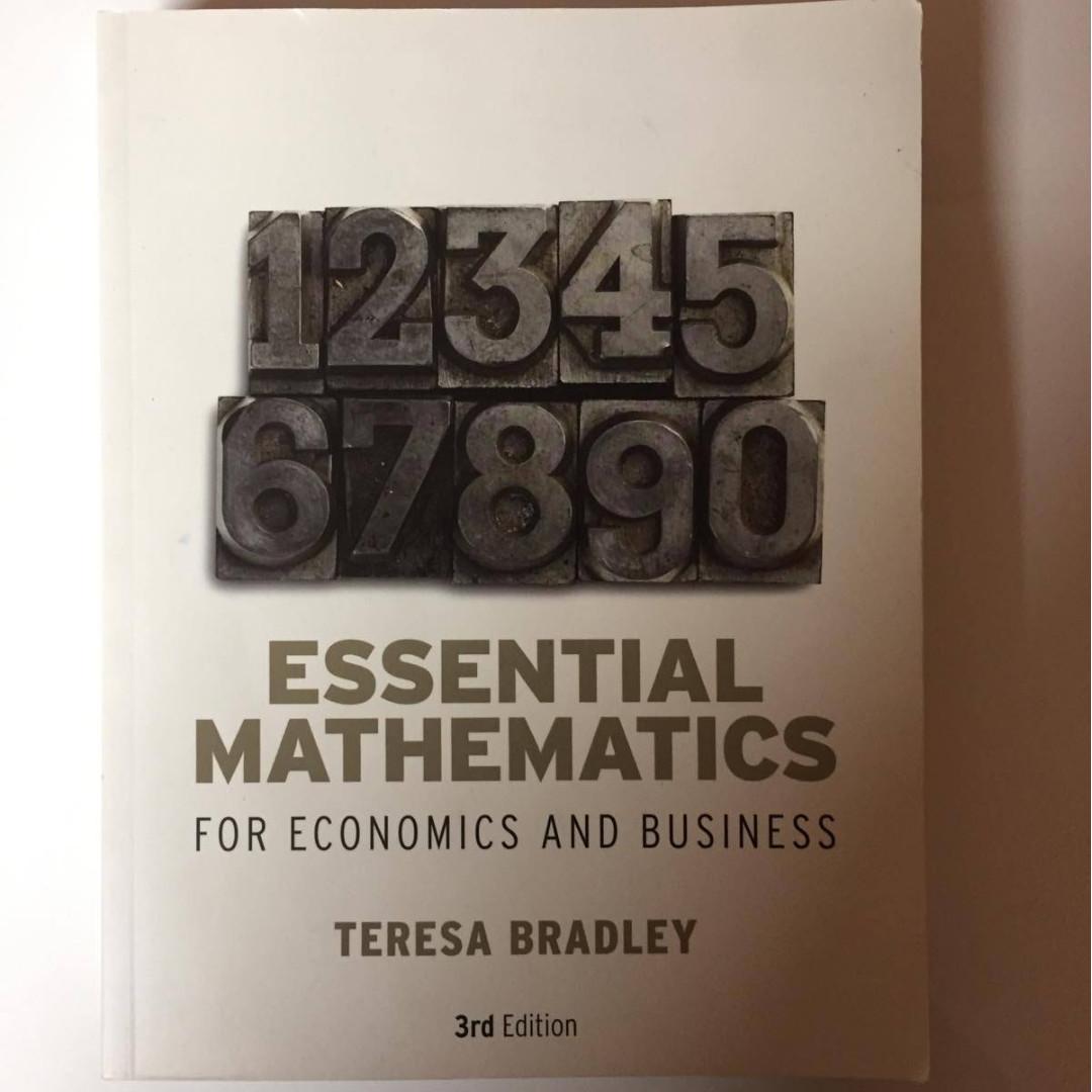 Mathematics & Accounting Textbooks