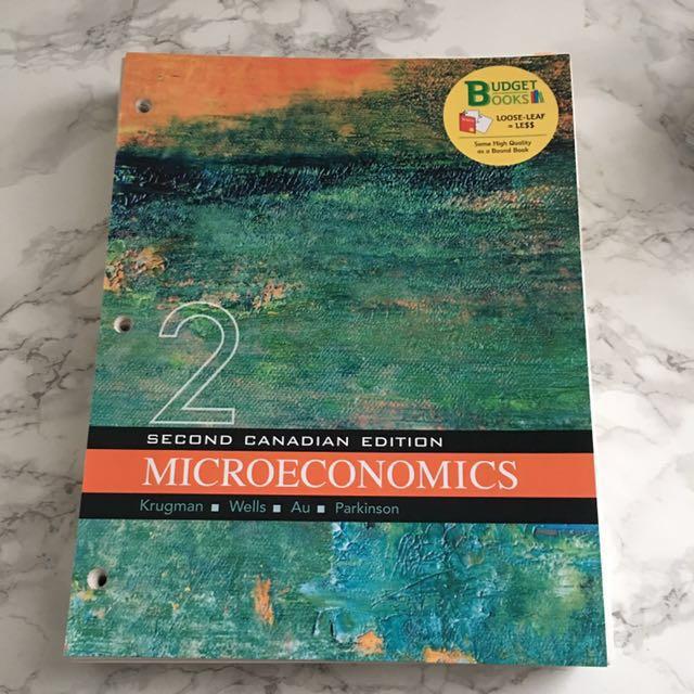 Microeconomics (ECN 104)