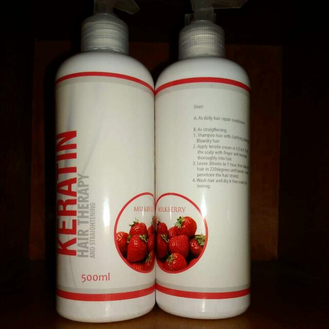 Milk Berry Keratin Hair Therapy 500ML