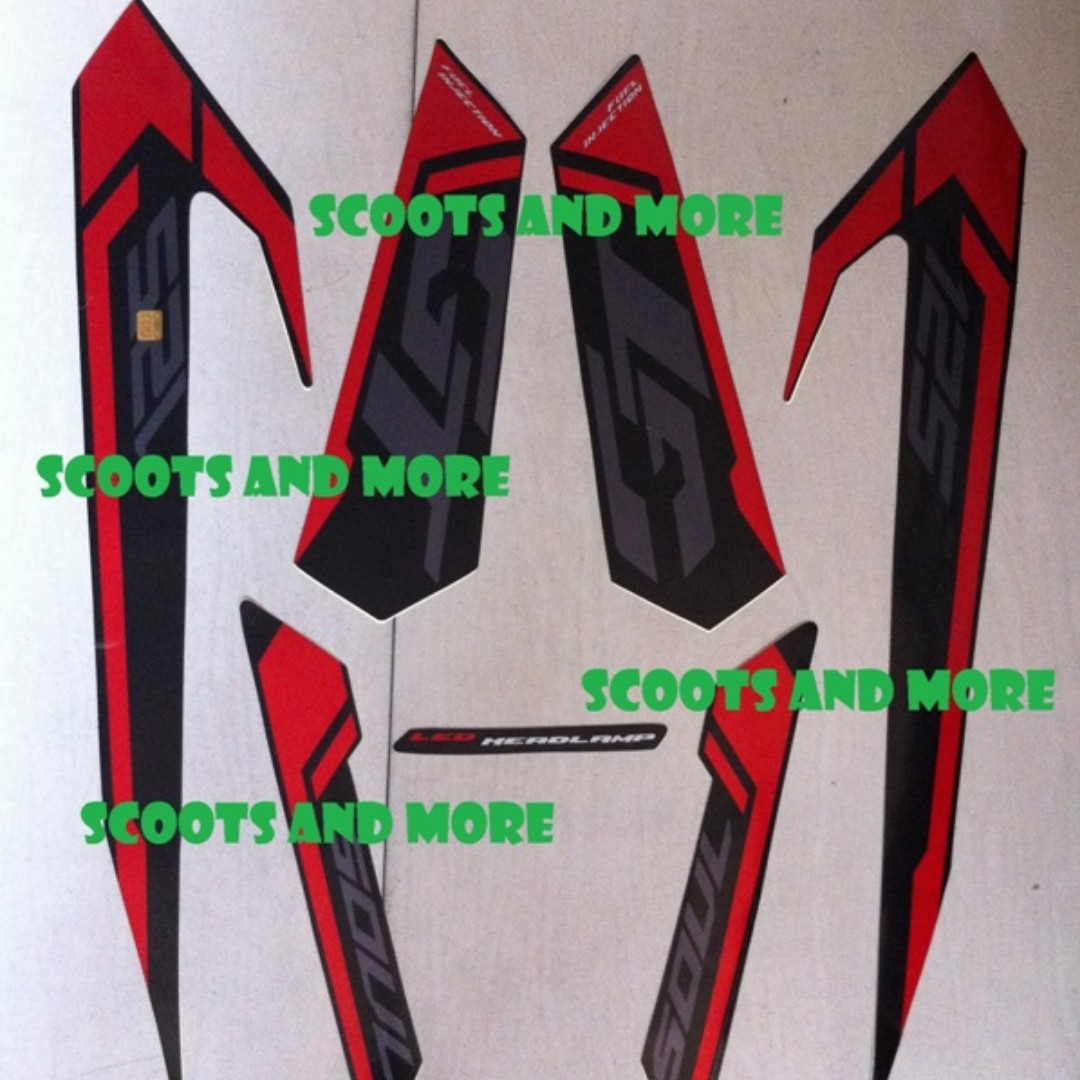 Scootsandmores Items For Sale On Carousell - Mio decalsfor sale yamaha mio genuine decals
