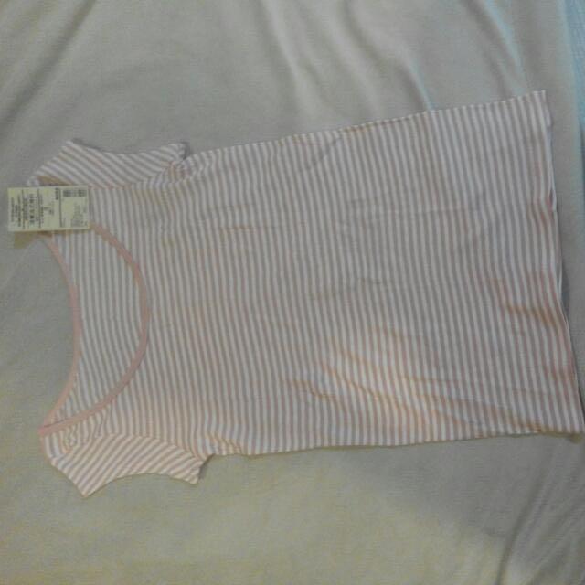 Muji 法式袖衫 短袖上衣