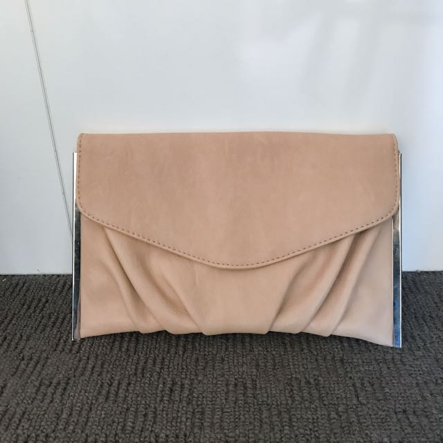 Nude clutch from collette
