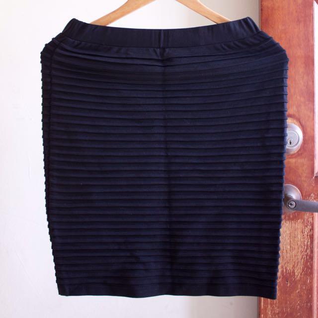 Office Wear Black Skirt