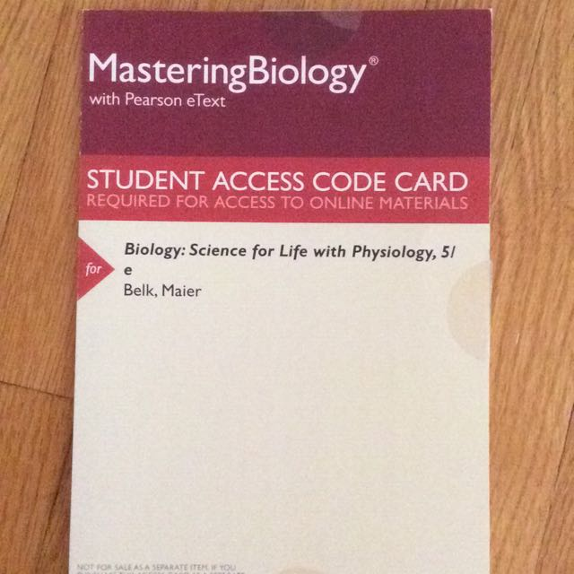 ONLINE ETEXT-BLG181: Biology of A Living City (Biology Science For Life 5th Edition, Pearson COLLEEN BELK & VIRGINIA BORDEN MAIER)