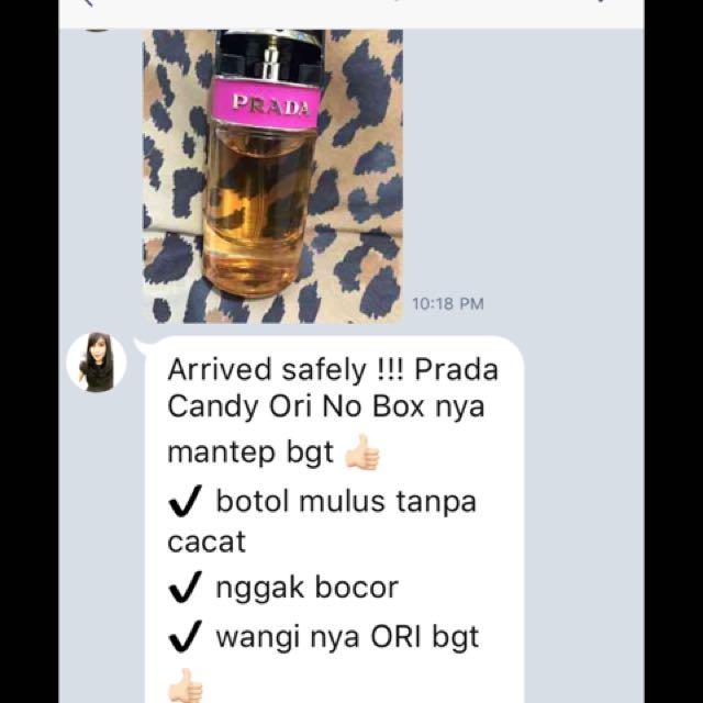 Parfum prada candy no box 50 ml