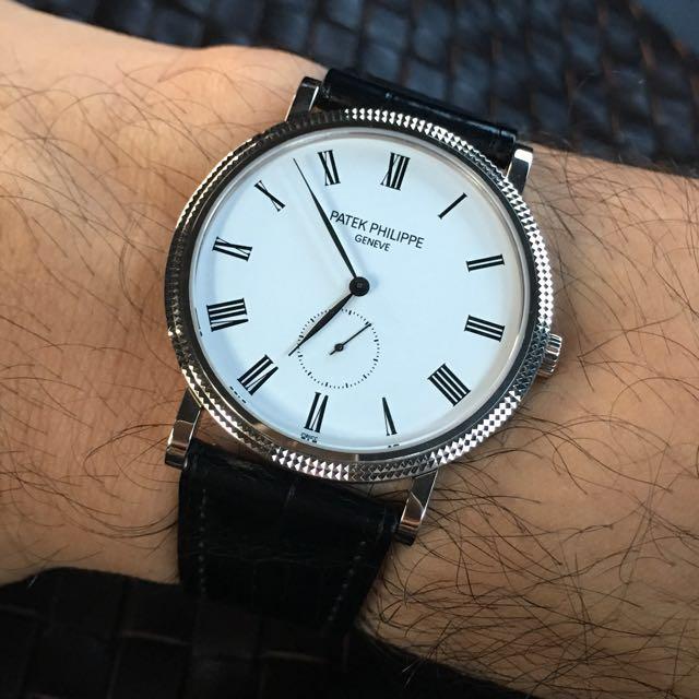 Patek Philippe Calatrava 5119G, Luxury, Watches on Carousell