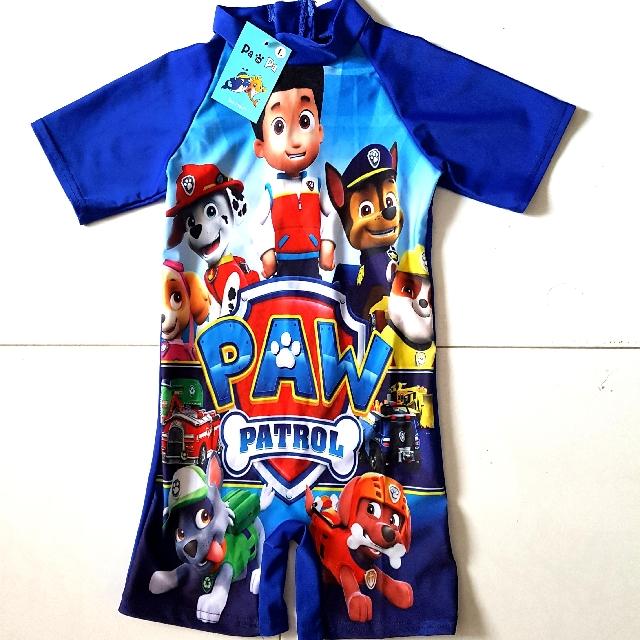 8a0458787 Paw Patrol Kids Swimwear, Babies & Kids, Boys' Apparel on Carousell