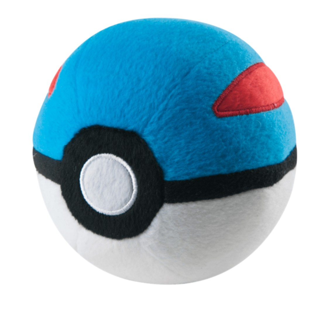 "Pokemon Great Ball 5"" Poké Ball Plush Toy TOMY Official - BRAND NEW with TAG!"