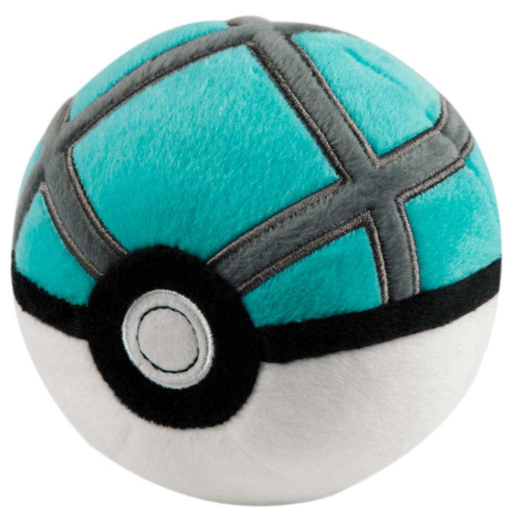 "Pokemon Net Ball 5"" Poké Ball Plush Toy TOMY Official - BRAND NEW with TAG!"