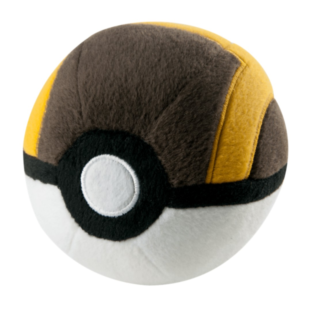 "Pokemon Ultra Ball 5"" Poké Ball Plush Toy TOMY Official - BRAND NEW with TAG!"