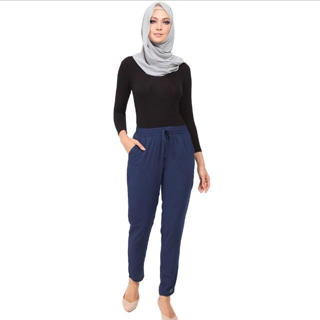 POPLOOK Adelpha Drawstring Pants (L)