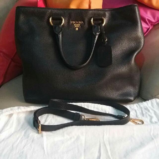 Prada bag with long strap