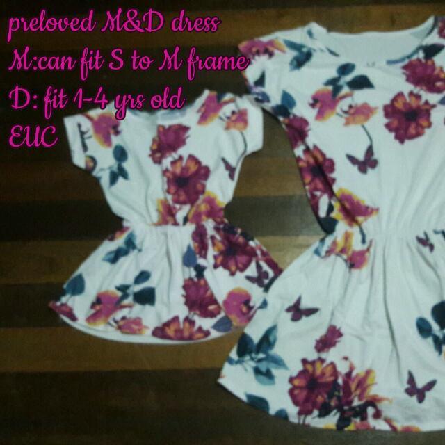 preloved M&D dress