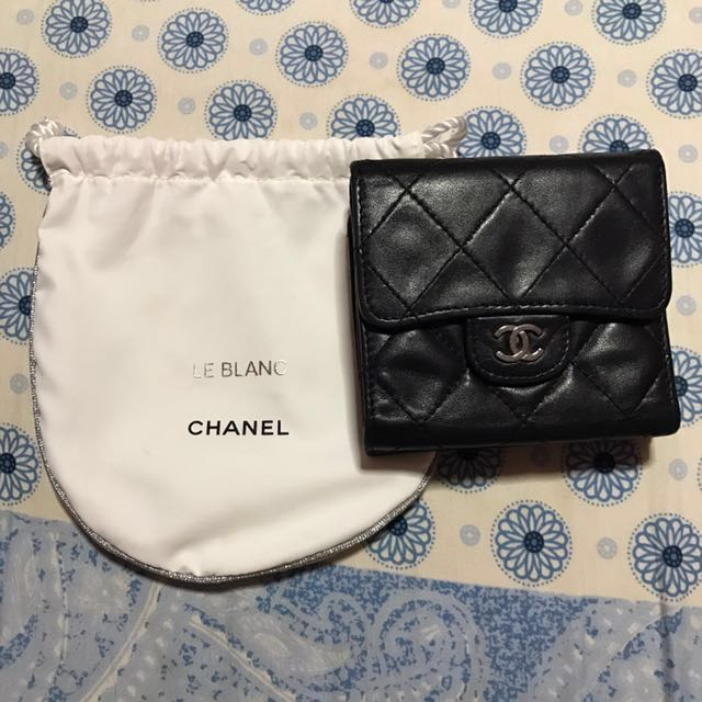 55f40cabb652 PRICE REDUCED* Chanel Short Wallet, Luxury, Bags & Wallets on Carousell