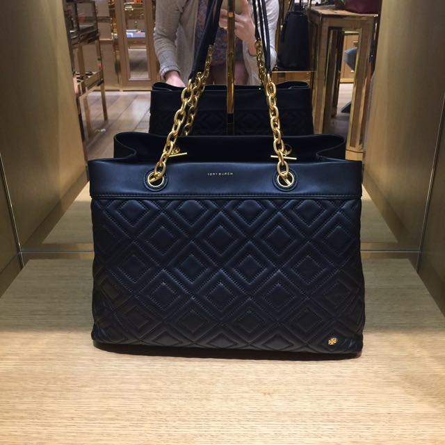 cbbd0e8dc6972 READY STOCK BN Authentic Tory Burch Fleming Triple Compartment Tote ...