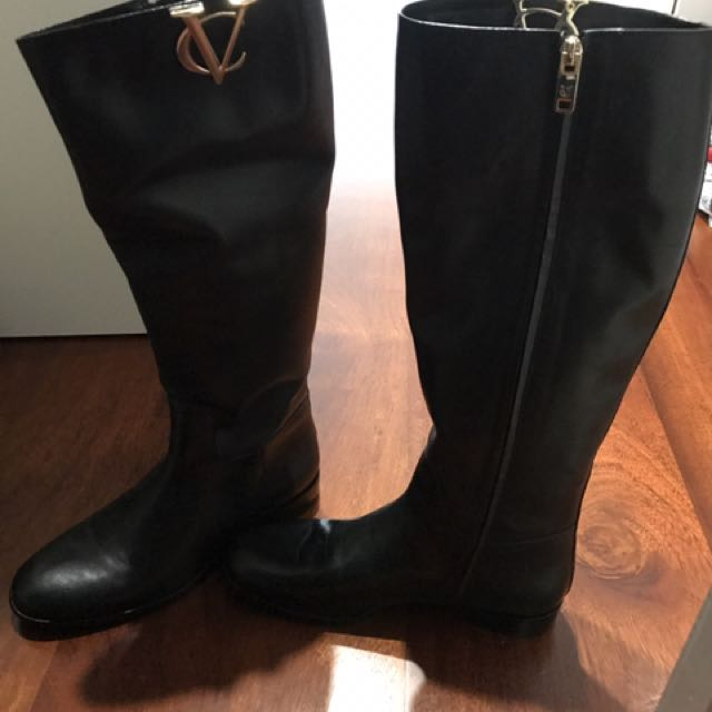 Real italian VC leather boots