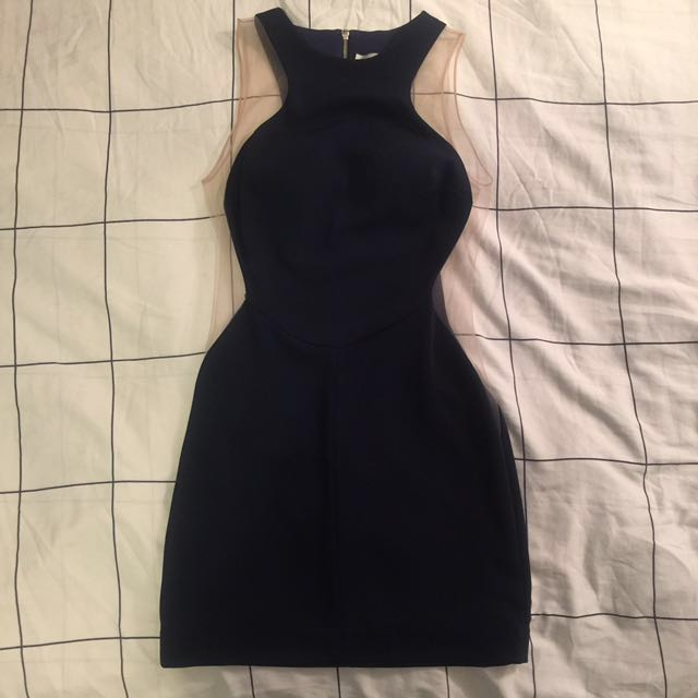 REDUCED Short Bodycon Dress in Navy