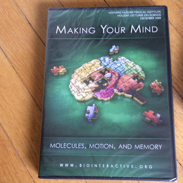SCIENCE DVD: making your mind: molecules,motion & memory