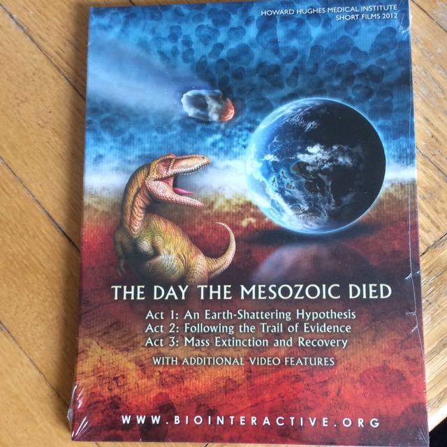 SCIENCE DVD: the day the mesozoic died