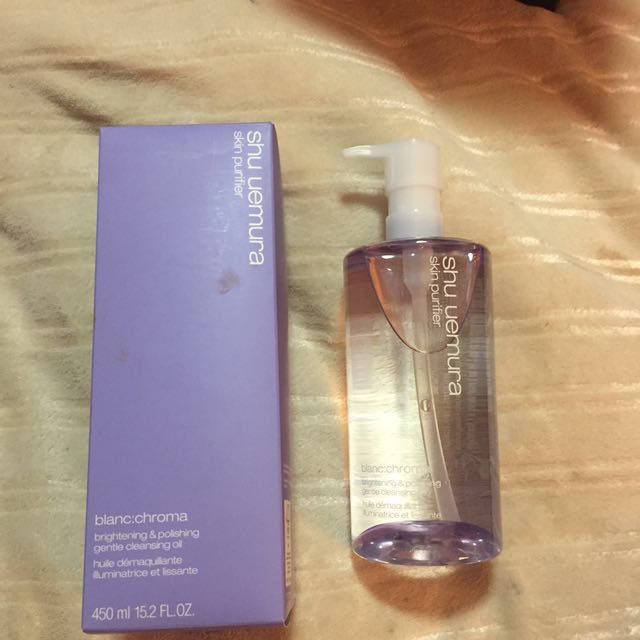 Shu Uemura Brightening And Polishing Cleansing Oil - BlanChroma