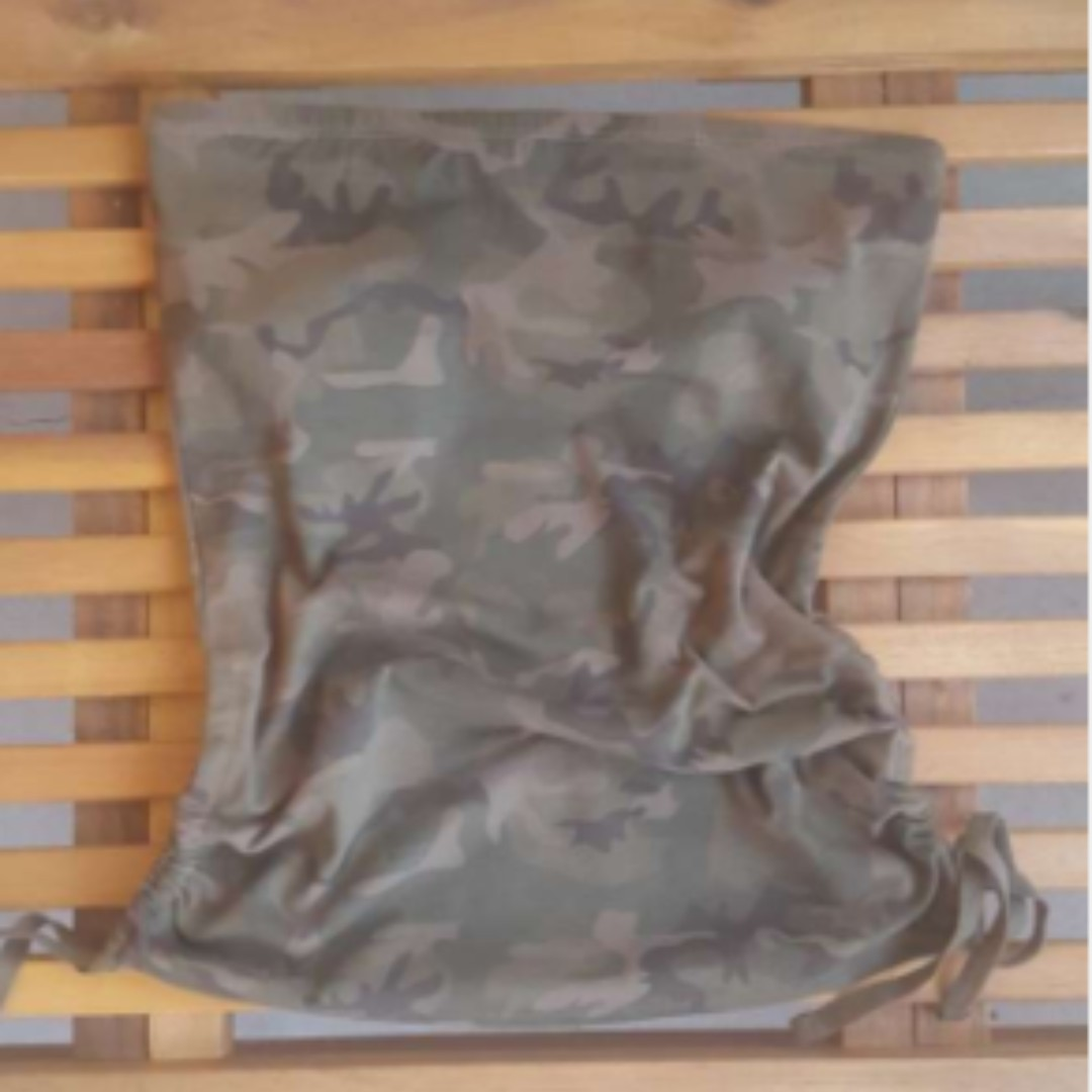 Size Small Camo Pattern Tube Top
