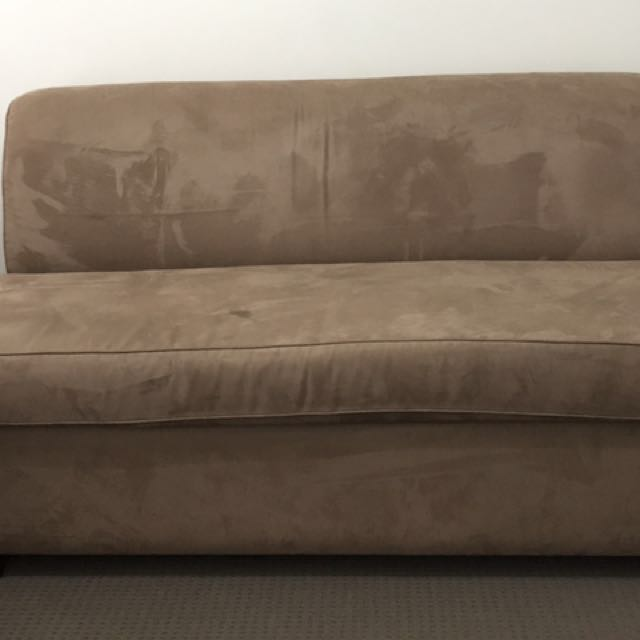Sofa bed (double Size) Brown Color