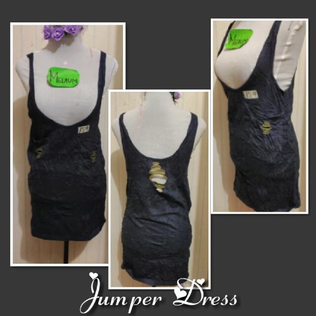 SOFT JUMPER DRESS