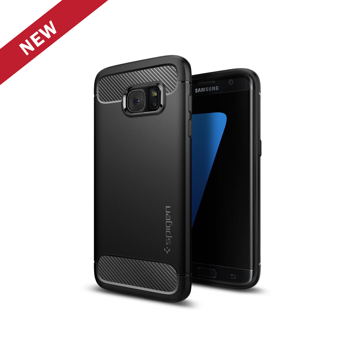 low priced 07532 e6259 Spigen Galaxy S7 Edge Case Rugged Armor