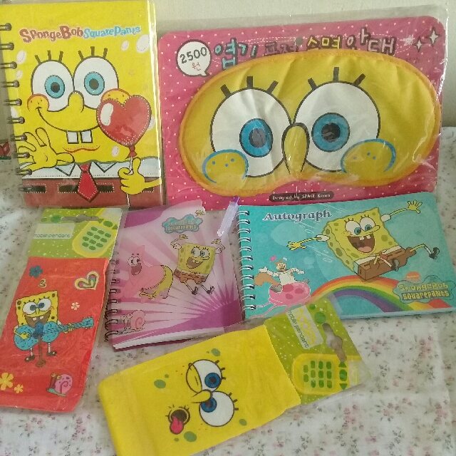 Spongebob  Items