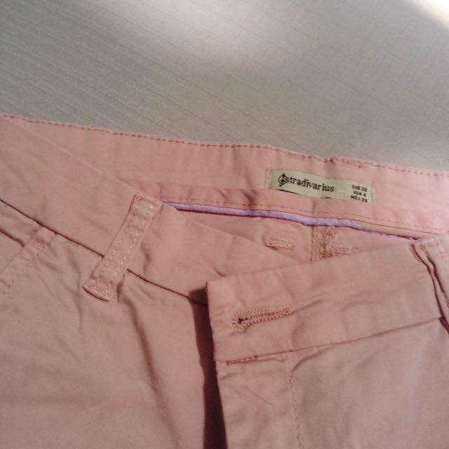 STRADIVARIUS Pink Pants