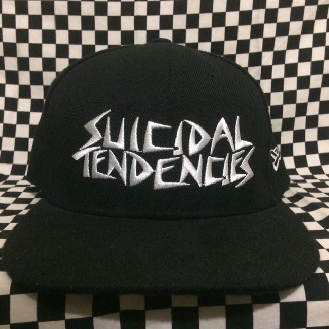Suicidal Tendencies x New Era SnapBack (replica) adjustable ... c96a2360793