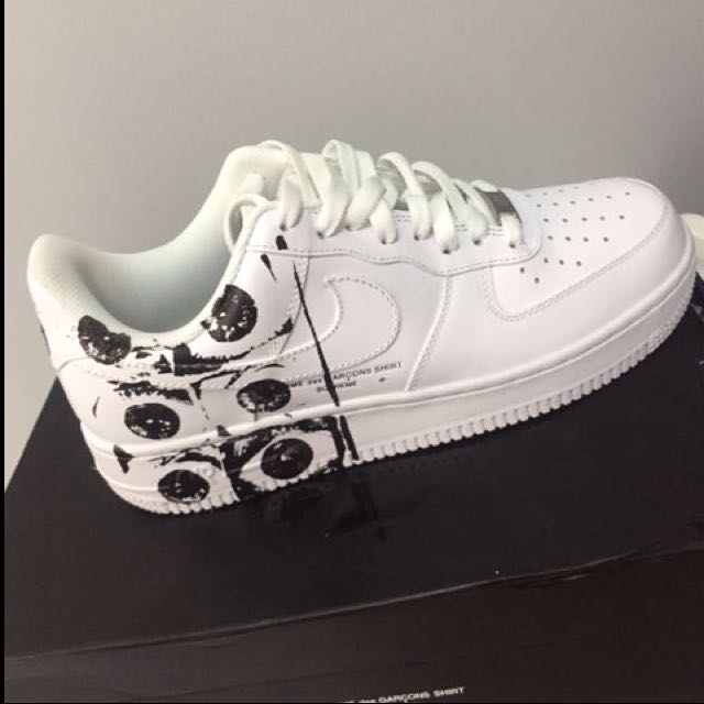 newest 28583 b31d3 SUPREME X CDG X NIKE AIR FORCE 1 HYPEBEAST , Men's Fashion ...