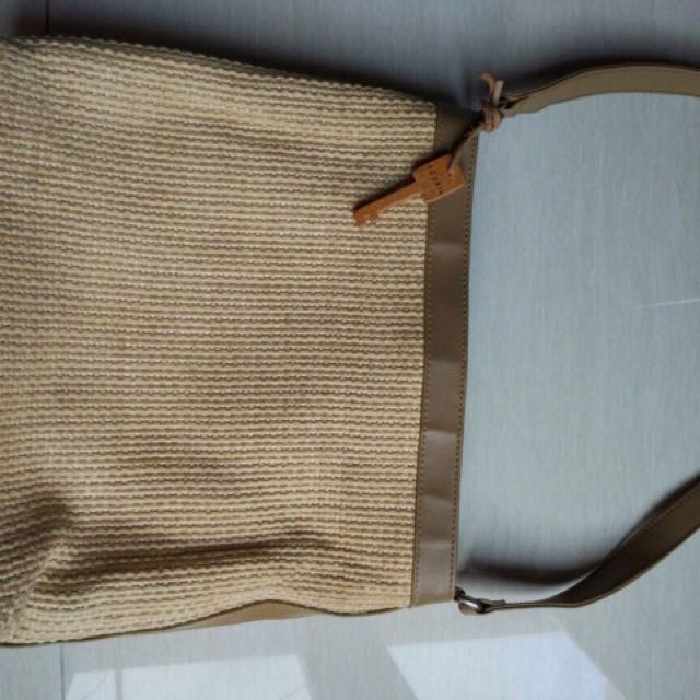 Tas Fossil Murah Preloved With Key