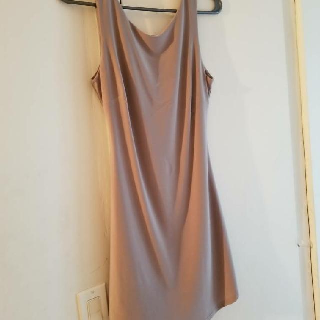 Tight Beige Dress