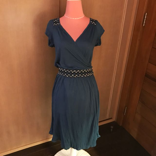 Topshop Blue Day Dress
