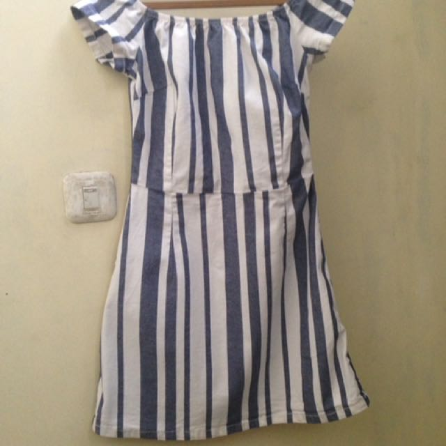 Topshop stripe dress