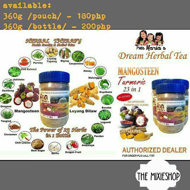 TresMarias Mangosteen Tea 23 in 1