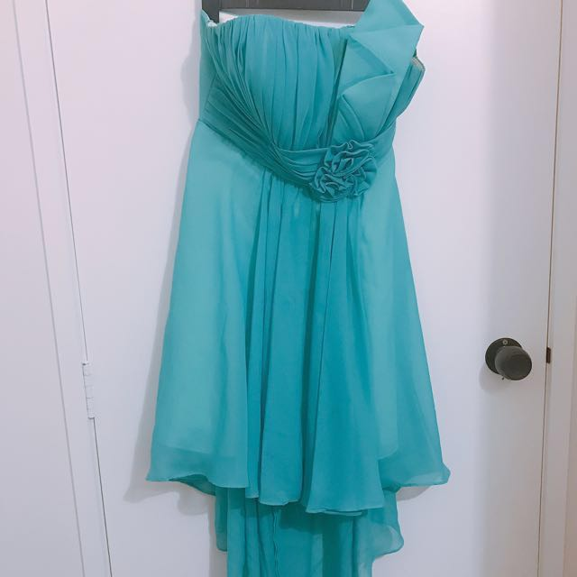 Turquoise Ball Dress